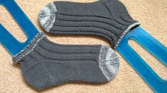 Parallel Lines Sock - free design by Raquel Gaskell