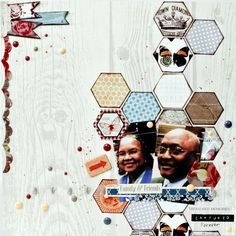 Hexagons and Enamel Dots