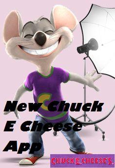 Chuck E Cheese had a GREAT new phone app for more Chuck E Cheese fun!
