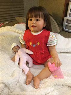 Skylar Nicole toddler reborn