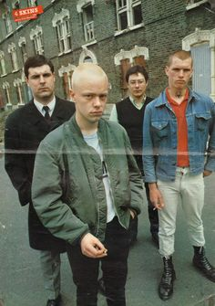 The 4 Skins, poster Taken from Skinhead: An Archive Skinhead Men, Skinhead Fashion, Skinhead Style, Skinhead Boots, Skin Head, London Photographer, Moda Vintage, Shooting Photo, Youth Culture