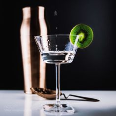 Drops by mynameismaximem  IFTTT 500px Cocktail Drink Festive Kiwi Lights Shaker Vodka Vsco Elyxonly