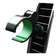 Car Air outlet mobile phone GPS clip support holder vehicle cellphone stand hands-free call, safe driving  blue, pink, green