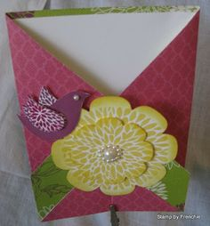 Gated Card using diagonal plate on the Simply Scored....great tutorial!!