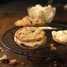 Our Chocolate Chip Cookie and Ice Cream Sandwich is just one of the decadent and delicious dishes you could be cooking on our NEW All American barbecuing course. Book your course at grillacademy.co.uk
