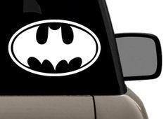 Original Batman Logo Vinyl Decal Batman Logo, Superhero Logos, Bat Signal, Vinyl Decals, The Originals, Art, Art Background, Kunst, Performing Arts