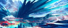 General 1920x800 artwork digital art concept art Duelyst