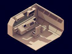30 isometric renders - Michiel van den Berg - Studio for Illustration & Design