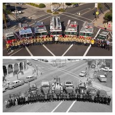 Before and after- Redlands Fire Department 1958 and 2013. Thanks Steve Leverette.