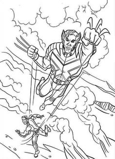 Venom Coloring Pages Printable  Comic Book Coloring Pages