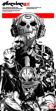bone head projekt by machine56.deviantart.com on @deviantART