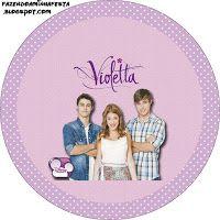 Kit personalizado violetta gratis