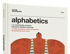 'alphabetics' | book for kids | little gestalten