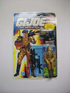 G.I.JOE 1991 RED STAR MOC C8 FREE SHIPPING!!  #Hasbro
