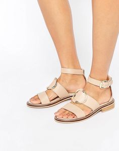 Sandalias de cuero FREENA de
