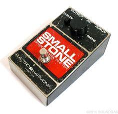 Electro Harmonix Small Stone v2 - vintage guitar pedal