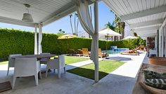 Vacation Palm Springs | The Tony Curtis Estate | Palm Springs Vacation Rental