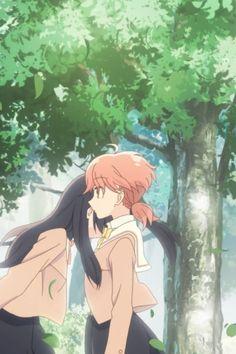 Yagate Kimi ni Naru - Yuu and Touko cute Anime Girlxgirl, Yuri Anime, Kawaii Anime, Anime Art, Sasameki Koto, Drawing Wallpaper, Manga Games, Magical Girl, Shoujo