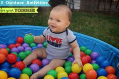 Backyard Activities to do with your toddler!!