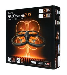 PARROT AR DRONE 2.0 POWER EDITION - http://www.midronepro.com/producto/parrot-ar-drone-2-0-power-edition/