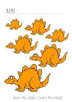 Albumarchief, - My list of the most beautiful animals Reptiles Preschool, Dinosaurs Preschool, Summer Preschool Themes, Preschool Crafts, Sequencing Cards, Felt Stories, File Folder Games, Dinosaur Crafts, Dinosaurs