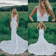 Lace wedding dress. Ignore the soon-to-be husband, for the present time let us focus on the bride who thinks about the wedding as the best day of her lifetime. With that basic fact, then it's certain that the wedding outfit has to be the best.
