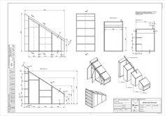 Hacer Baño Bajo Escalera:ensamblados pero puede construirse como cada uno quiera lo importante