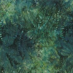 Rayon Fractals Green by Cantik Batik. Distributed exclusively by Brewer Sewing.