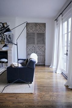 Love the Serge Mouille floor lamp!