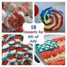 Fun Home Things: 10 Desserts for the 4th of July!