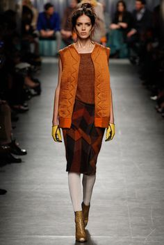 FALL 2014 READY-TO-WEAR Missoni ( side tailored zigzag )
