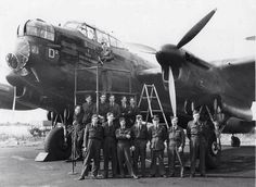 "RAF Avro Lancaster ""Billie"" and her crew 