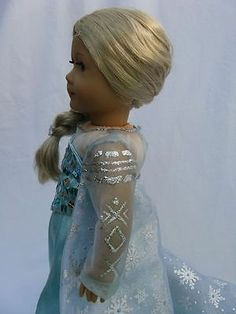 Disney's Frozen Ice Queen Elsa for American Girl Doll | eBay