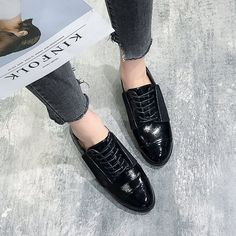 Black Brogues, Cheap Womens Shoes, Shoe Sale, Casual Shoes, Espadrilles, Autumn Fashion, Slippers, Womens Fashion, Shopping