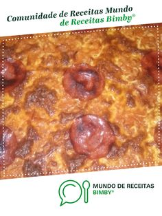 Massa pizza tipo Pizza - Hut Molho de Tomate e Manjericão de olinda M. Receita Bimby<sup>®</sup> na categoria Prato principal outros do www.mundodereceitasbimby.com.pt, A Comunidade de Receitas Bimby<sup>®</sup>. Pizza Hut, Chocolate, Quiches, Pepperoni, Food, Other Recipes, Strawberry Pots, Spice Blends, Main Courses