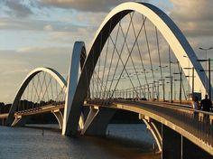 Ponte Juscelino Kubitschek      oscar niemeyer      brasil