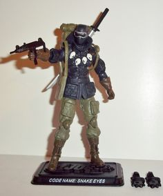 G.I Joe 25th ROC Rise of Cobra Paratrooper Para Trooper Viper Figure Complete