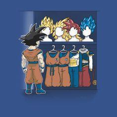 SAIYAN CLOSET T-Shirt - Dragon Ball T-Shirt is $11 today at Ript!