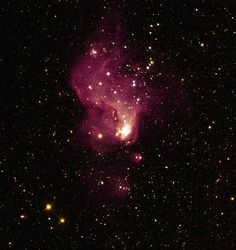 A Giant Star Factory in Neighboring Galaxy NGC 6822 NASA