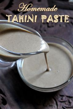 YUMMY TUMMY: Homemade Tahini Paste Recipe / How to Make Tahini at Home