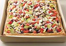 Mediterranean Hummus Pizza - The Pampered Chef® www.PamperedChef.biz/Courtz