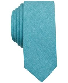 "When only the most polished look will do, reach of this Parker neat skinny tie from Penguin. | Polyester/linen | Dry clean | Imported | Skinny design | 2 1/4"" wide 