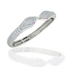 Checkout Twin Tempts Bangle at BlingJewelry.com