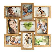 http://ift.tt/1YqvwYy levandeo Holz Bilderrahmen in Eiche natur braun hochwertig verarbeitet für 9 Fotos 10x15cm mit Glasscheiben  Fotogalerie Collage Fotocollage Bildergalerie Fotorahmen ! salelanyt##
