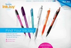 Papermate has released the new Papermate InkJoy. Its revolutionary new ink flow system is making it The Most Stolen Pen in the World!