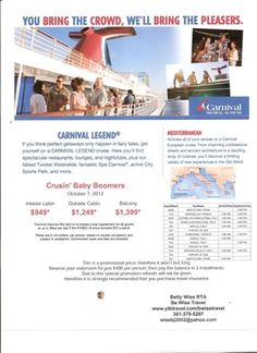 Great cruise deal!!!!!