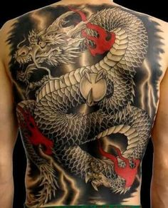 Looking for the best dragon tattoos? Dragon tattoo designs are very powerful symbols, especially within Asian culture. While in the Western world, the dragon tattoo can represent evil, danger and…View Dragon Tattoo Hd, Dragon Tattoos For Men, Back Tattoos For Guys, Full Back Tattoos, Japanese Dragon Tattoos, Dragon Tattoo Designs, Tattoo Designs Men, Japanese Dragon Tattoo Meaning, Japanese Back Tattoo
