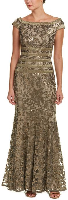Gown  evening elegant Tadashi Shoji ,night gown dresses,gown dresses long
