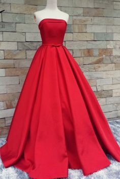 Gown Prom Dresses, Red Prom Dresses, Long Prom Dresses With Pleated Sleeveless Floor-length, Long Prom Dresses, Long Red dresses, Red Long dresses, Long Red Prom Dresses, Red Strapless dresses, Prom Dresses Long, Prom Dresses Red, Strapless Prom Dresses, Red Long Prom Dresses, Strapless Red dresses, Prom Long Dresses