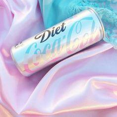 pink, coca cola, and pastel image Aesthetic Grunge, Aesthetic Vintage, Blue Aesthetic, Aesthetic Food, Rainbow Aesthetic, Aesthetic Collage, Bebida Boba, Coca Cola Wallpaper, Diet Coke
